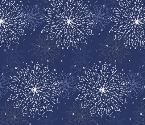 Mandala fabric by festoonery on Spoonflower - custom fabric
