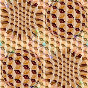 Geodesic Asanoha (Wooden)