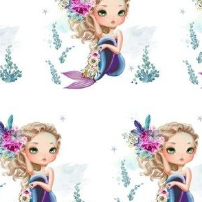 "4"" Lilac Mermaid / Mix & Match"