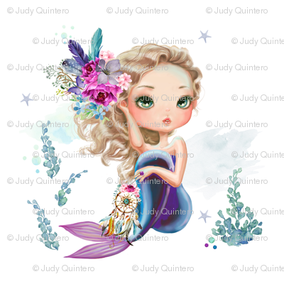 "8"" Mix & Match / Lilac Mermaid"