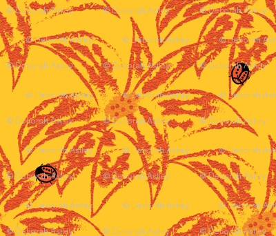 Loud Lilies 2 with Ladybugs