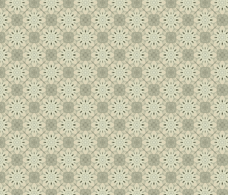 Vintage floral 1 fabric by northbloom on Spoonflower - custom fabric