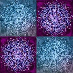 Mandala Quilt Squares