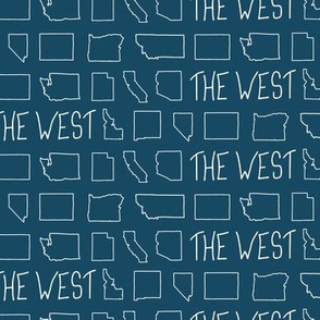 States of The West - Indigo