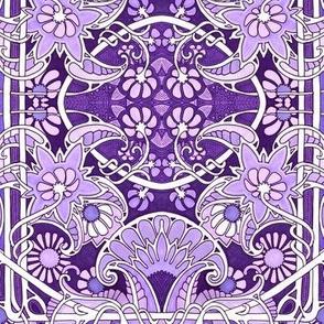 Purple Keeps Spring Secrets Forever