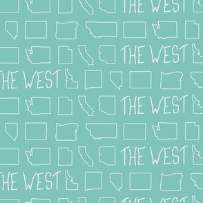 States of The West - Turquoise