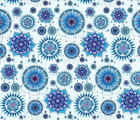 Dreaming of Mandalas fabric by everhigh on Spoonflower - custom fabric