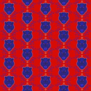Red Bengal Tiger Petit