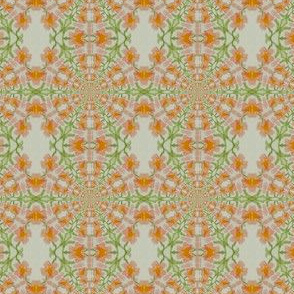 Entwined Orange blossoms