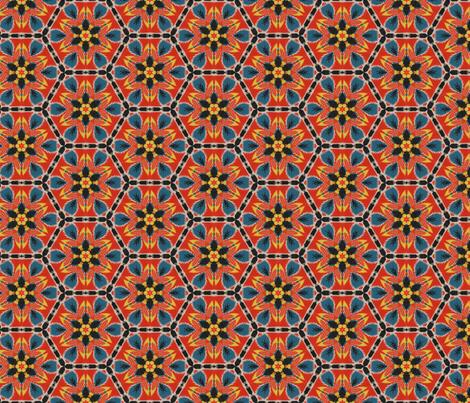 Happy Hexagon fabric by hollywood_royalty on Spoonflower - custom fabric