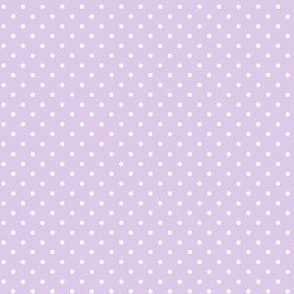 hedgehog polkadot purple