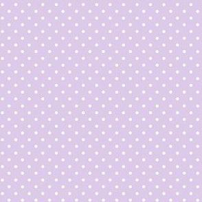 hedgehog polkadot purple