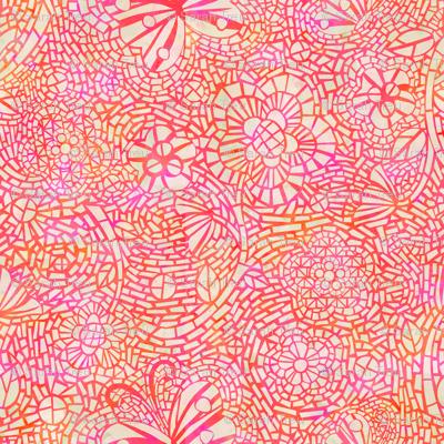 Mosaic Ceramic Pink