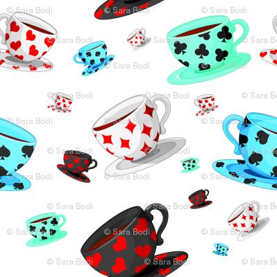 Suited Tea Cups