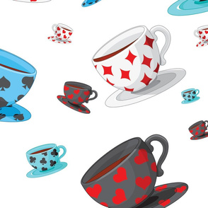 Suited Tea Cups