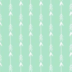 arrow fabric // mint arrows fabric simple sweet arrows design for nursery