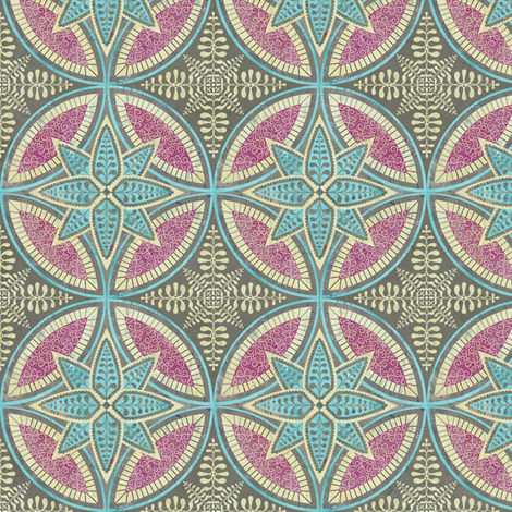 Mandalas fabric by sarah_treu on Spoonflower - custom fabric