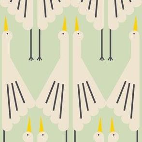 Crane Deco - mint