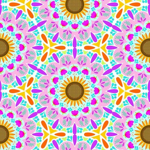 Summer Sunshine Mandala