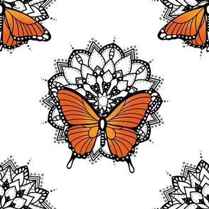 Butterflies and mandalas 2
