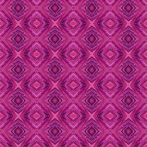 Brightened Maroon Diamond Brocade