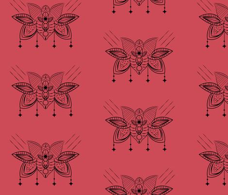 Flower-Mandala fabric by a_cauffman on Spoonflower - custom fabric