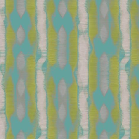 Alpine Stripe (Turquoise) fabric by david_kent_collections on Spoonflower - custom fabric