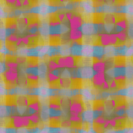 Alpine Weave (Yellow) fabric by david_kent_collections on Spoonflower - custom fabric