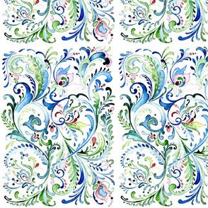 Watercolor Rosemal