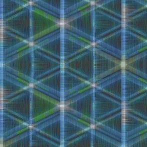 Tribal Geometry (Blue)