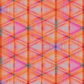 Tribal Geometry (Orange)