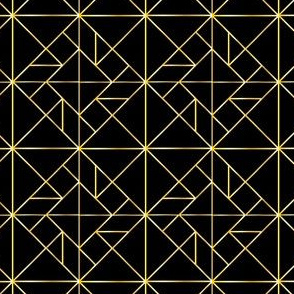 Art Deco Tangram Inspired Design