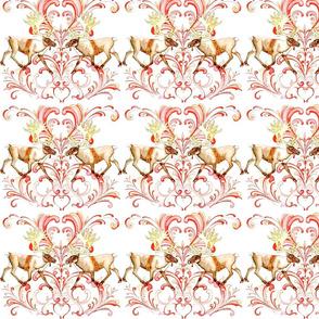 Reindeer Rosemal