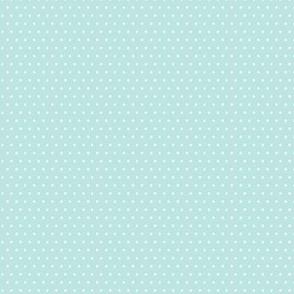 ladybug polka dot blue
