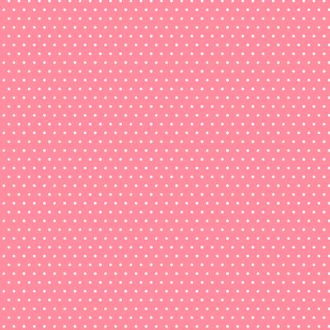 ladybug polka dot on dark pink fabric by littlearrowdesign on Spoonflower - custom fabric