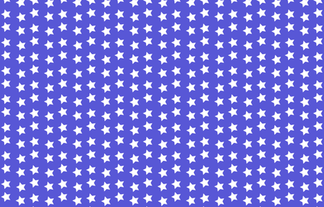 Wonder Blue and White Stars fabric by ellegarrettdesigns on Spoonflower - custom fabric