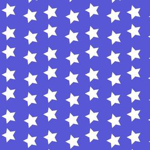 Wonder Blue and White Stars
