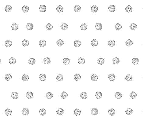 Mini Mandala Inspired Dots fabric by creative_madame on Spoonflower - custom fabric