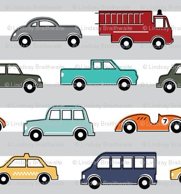 Beep Beep! Colorful Cars - Large
