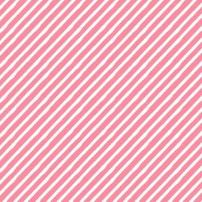 ladybug dark pink stripes