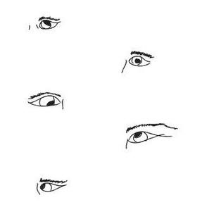 Drawn Eyes Pattern