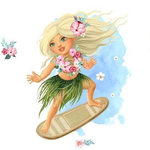 "8"" SURFER GIRL / MIX & MATCH"