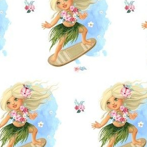 "4"" SURFER GIRL / MIX & MATCH"