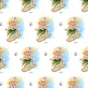 "2"" SURFER GIRL / MIX & MATCH"