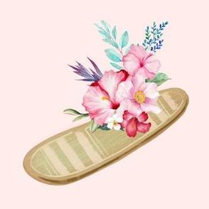 """7"""" SURFBOARD MIX & MATCH / PINK"""