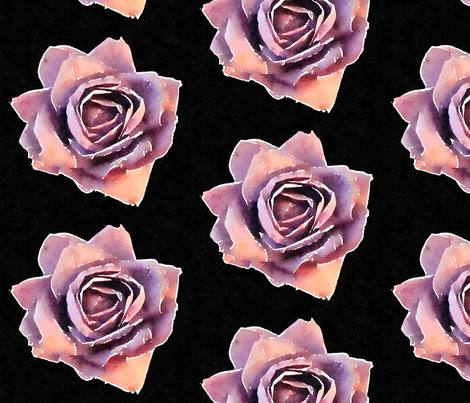 Watercolored Paper Flower fabric by ashli_irwin on Spoonflower - custom fabric