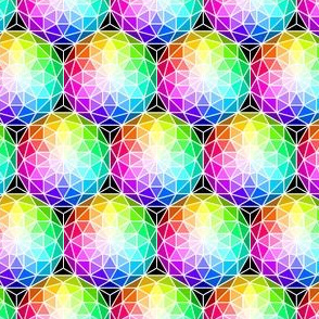 06215603 : SC3 V dome : rainbow sparkle