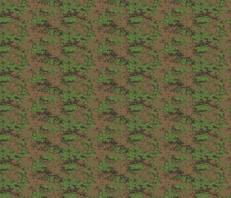 1/6 Scale Oak B  Spring Camo Dark Shade fabric by ricraynor on Spoonflower - custom fabric