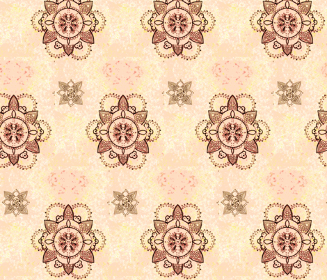 Une Bebe Fille Rose fabric by kelbel22 on Spoonflower - custom fabric