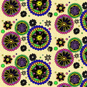 Mandalas and Pointillism